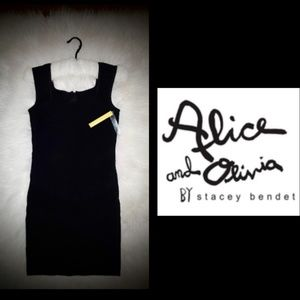 New! Alice + Olivia Black Dress!✨